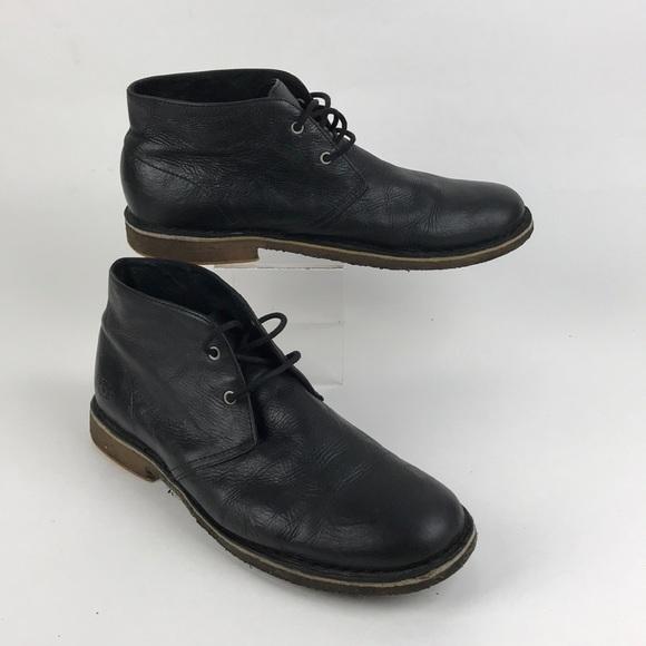 88f94d0dcf6 UGG Chukka Leighton desert boots men's black